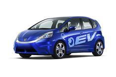 Honda showcases electric EV concept