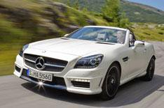 Mercedes-Benz SLK 55 AMG review