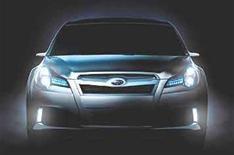 Subaru unveils Legacy concept car