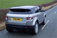 Range Rover Evoque: driven