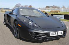 McLaren MP4-12C test video April 2009