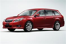 First photo of new Subaru Legacy estate
