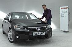 Lexus CT200h Reader Test Team video