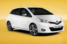 2013 Toyota Yaris Trend unveiled