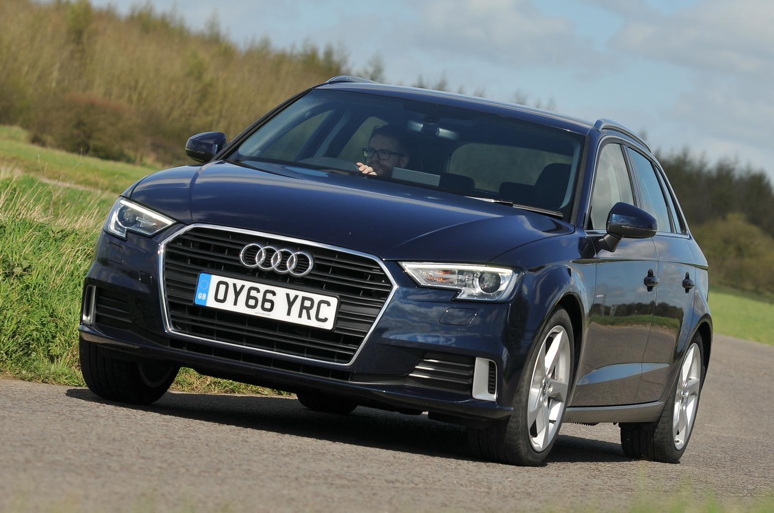 New Volkswagen Golf and Honda Civic vs Audi A3 Sportback