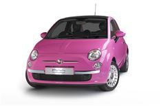 Fiat 500 gets Pink'd