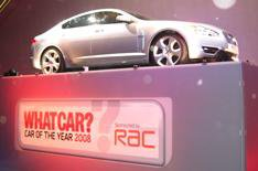 Jaguar XF is What Car? Car of the Year