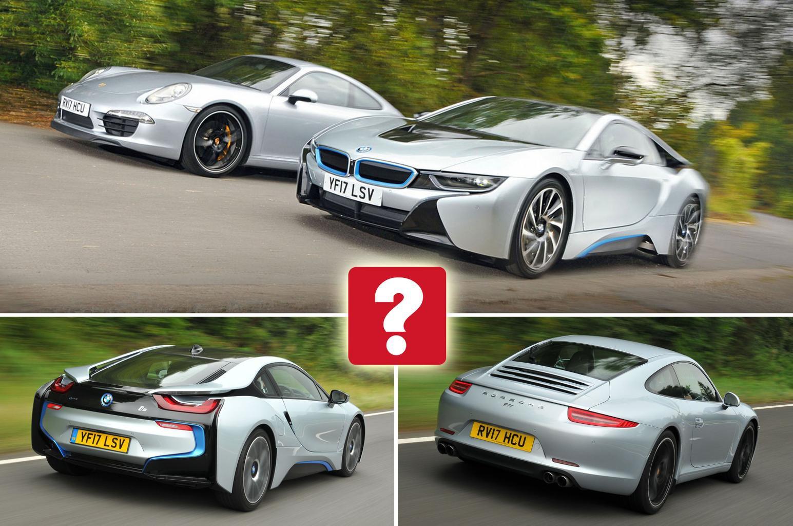 BMW i8 vs Porsche 911