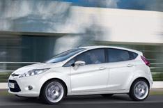 First image: five-door Fiesta