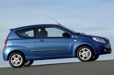 Chevrolet Aveo - now with three doors