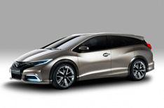 Honda Civic Tourer exclusive preview