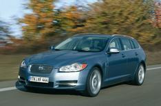 First image: Jaguar XF estate