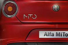 Alfa Romeo Mito all badged up