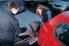 Drivers 'crashing for cash'