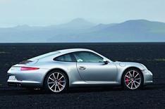 New Porsche 911 uncovered