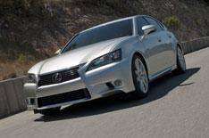 Ferrari and Jaguar upstage new Lexus GS