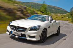 Mercedes SLK55 AMG prices revealed