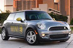 Electric Mini E driven