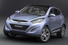 New Hyundai Tuscon concept car