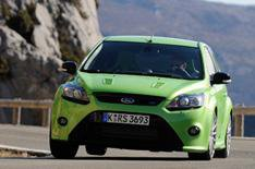Ford Focus RS on video