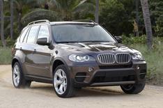 BMW X5 driven