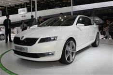 Frankfurt debut for new Skoda hatch