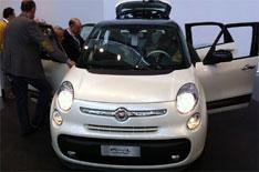 Fiat 500L MPV due in 2013