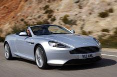 Aston Martin Virage Volante driven