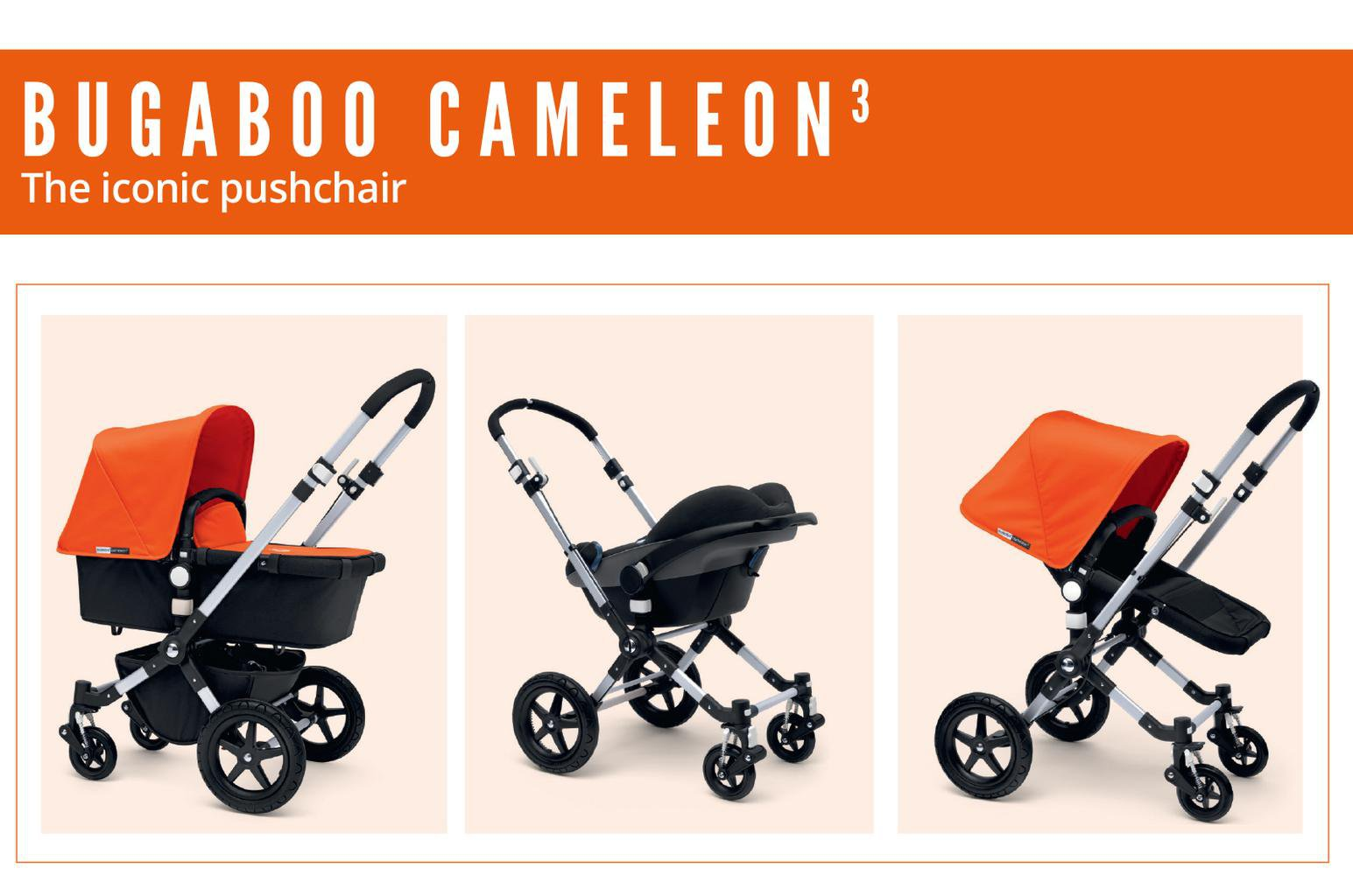 Bugaboo Promotion - What journey determines your style?
