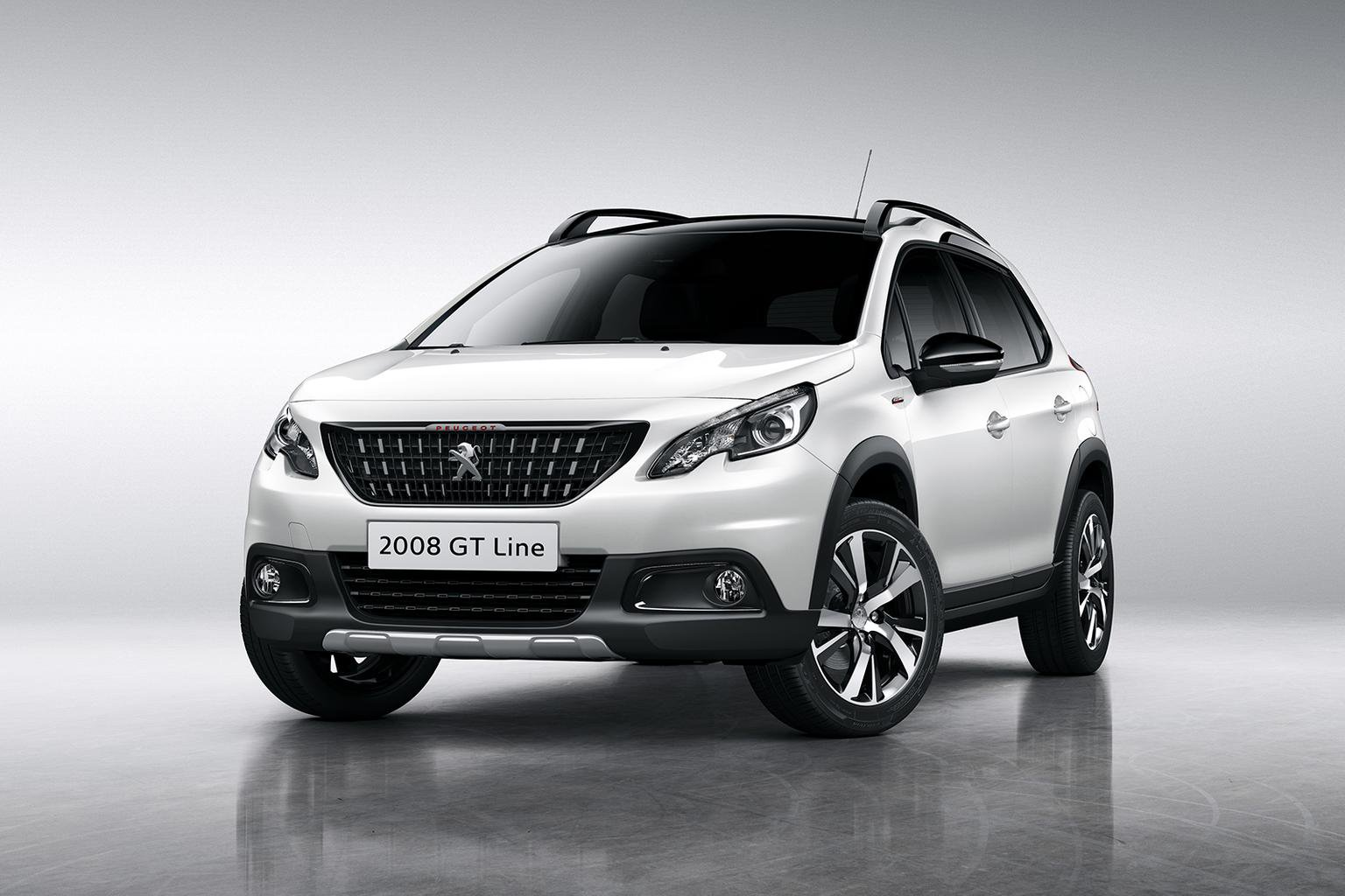 Facelifted Peugeot 2008 revealed