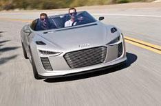 Audi E-Tron Spyder review