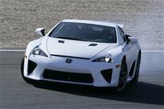 Lexus LFA 'a monster'