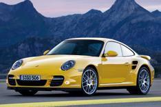 Porsche 911 Turbo driven