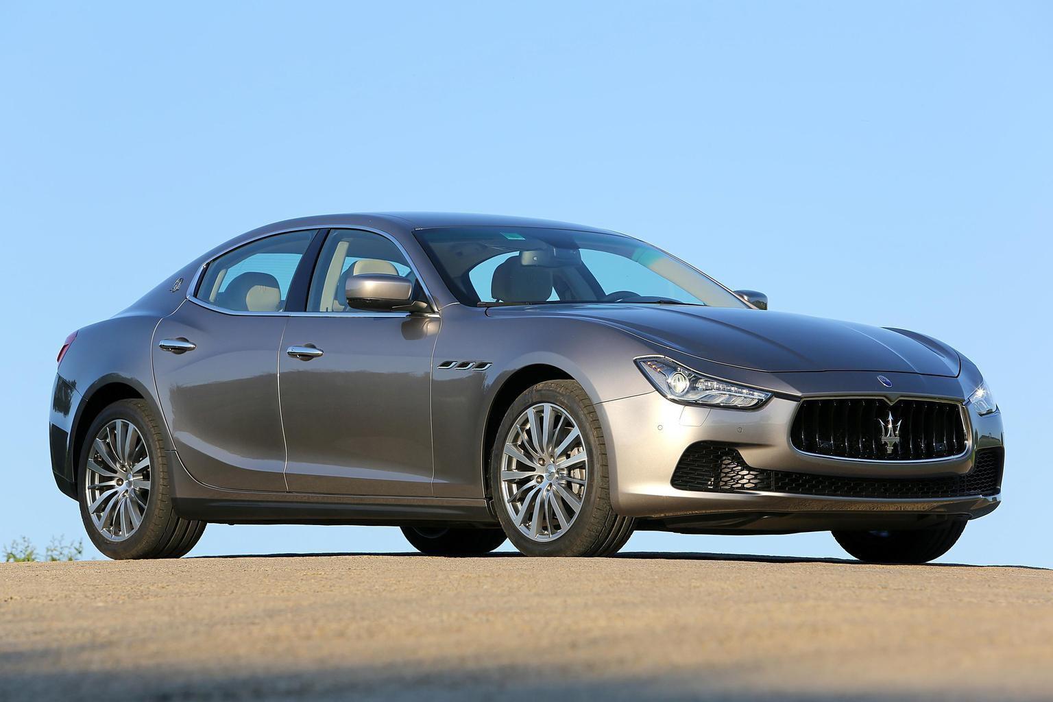 2013 Maserati Ghibli exclusive preview