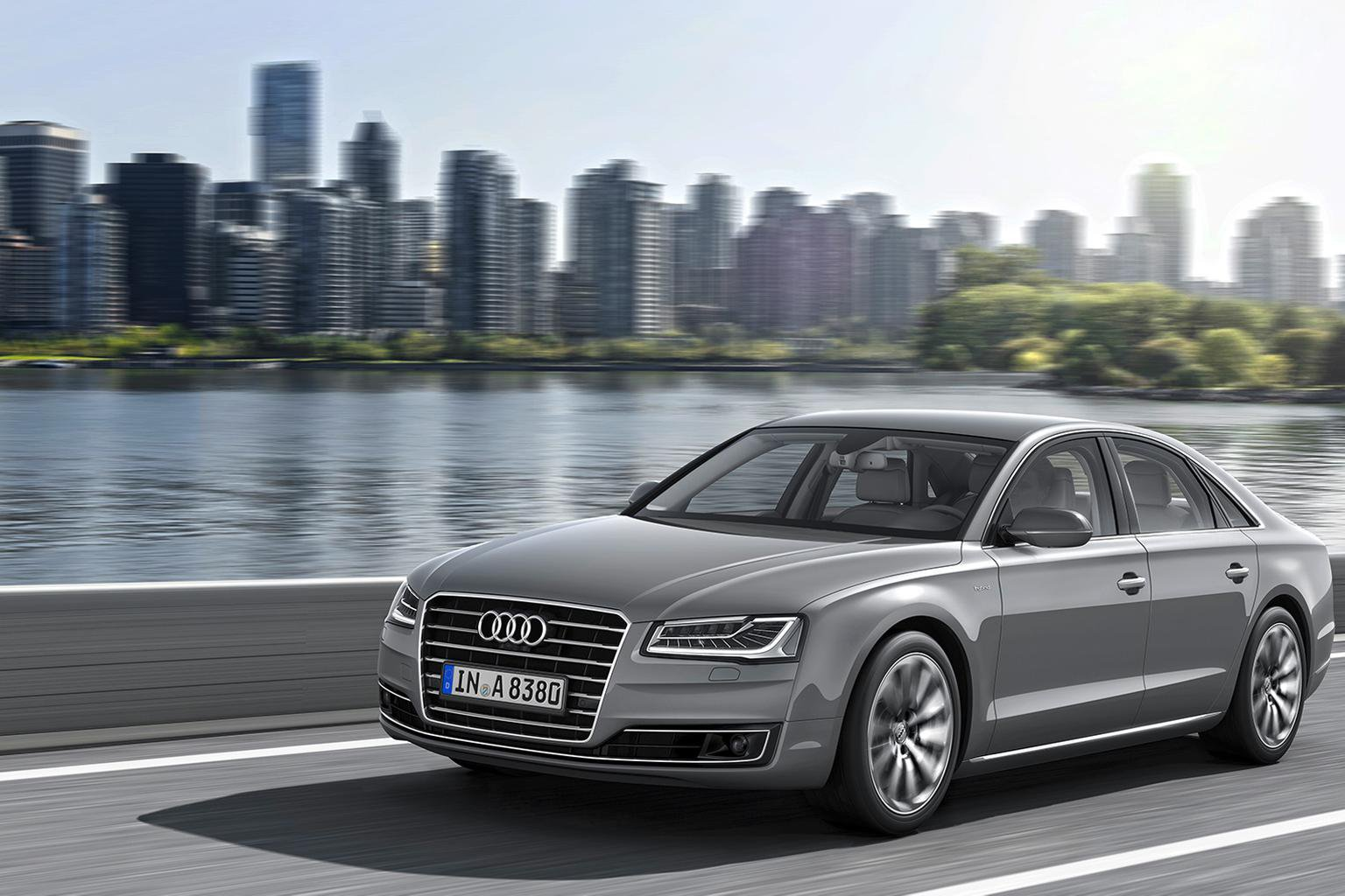2014 Audi A8 unveiled