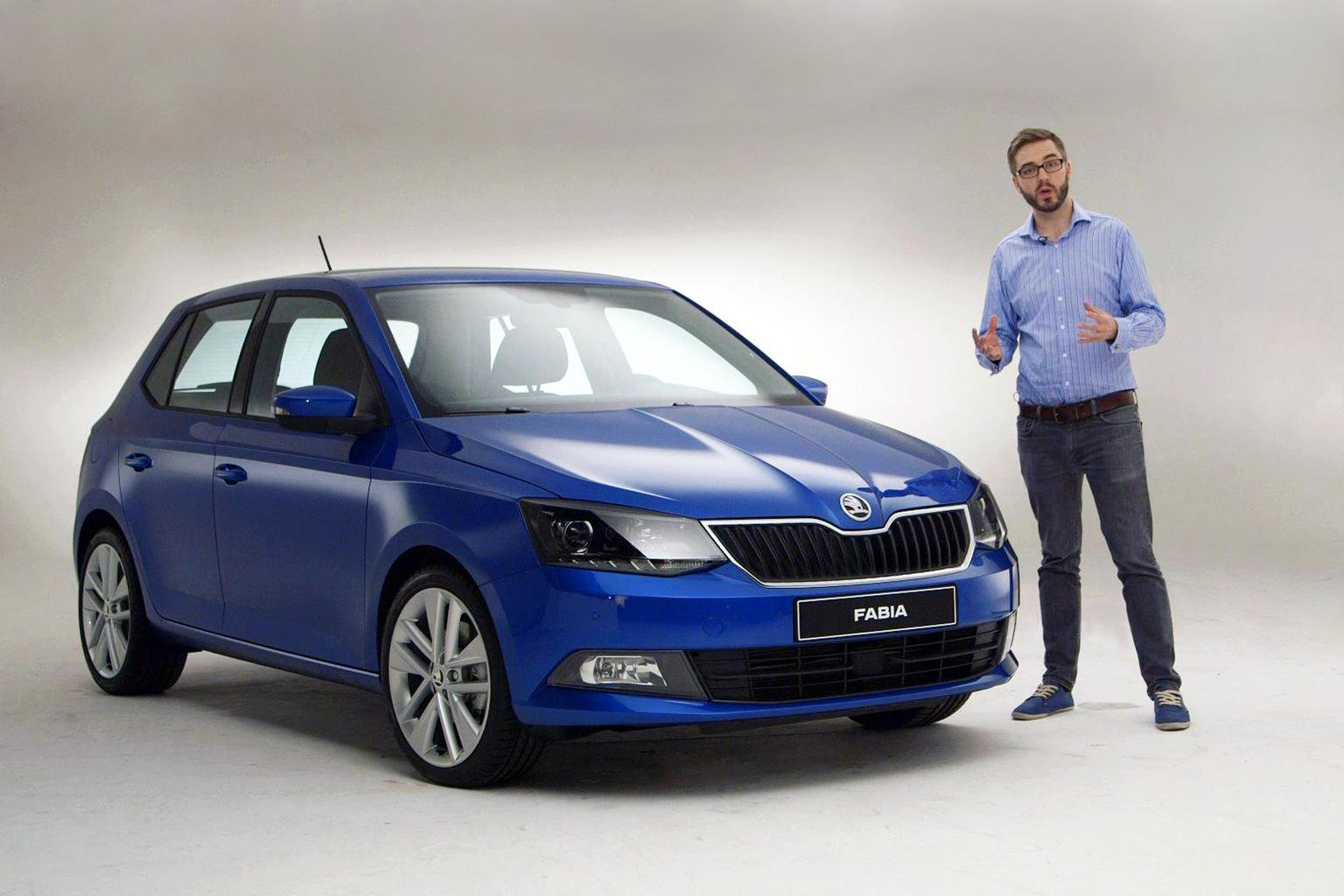 All-new 2015 Skoda Fabia - exclusive video preview