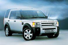 VW Golf and Land Rover Discovery