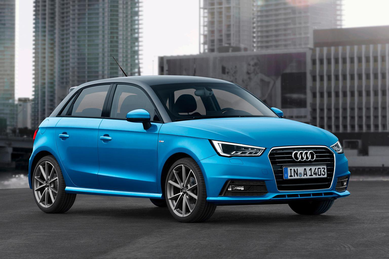 2015 Audi A1 face-lift revealed