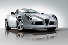 Alfa Romeo to reveal 8C Spider