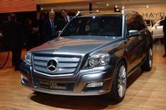 Mercedes: GLK for UK?