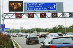 Speed limit rise on M42