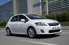 Toyota Auris Hybrid driven