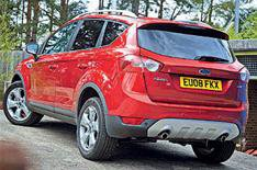 Ford Kuga's parking camera option