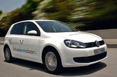 2012 VW Golf Blue-e-motion review