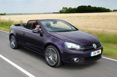VW Golf Cabriolet 1.4 TSI 160 GT driven