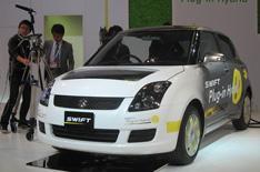 Suzuki Swift and SX4 eco concepts