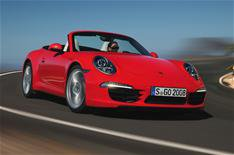 Porsche reveals 911 Carrera Cabriolet