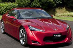 Exclusive preview of Toyota FT-86
