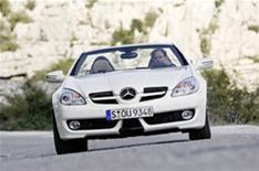 First drive: Mercedes SLK 200K
