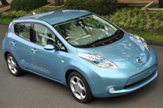 Nissan Leaf to be built in the UK